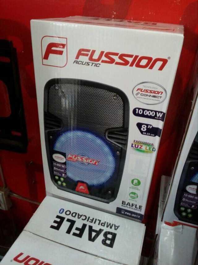 """Bafle Amplificado Fussion de 8"""" pulgadas"""