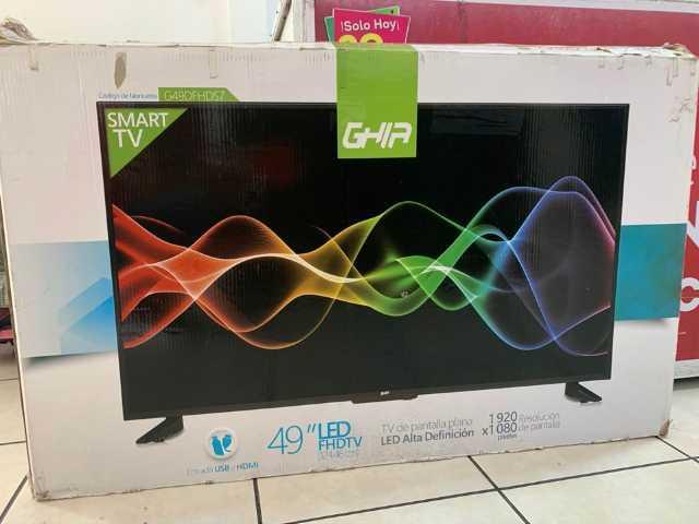"""Pantalla de 50"""" smart Tv led de alta definición"""